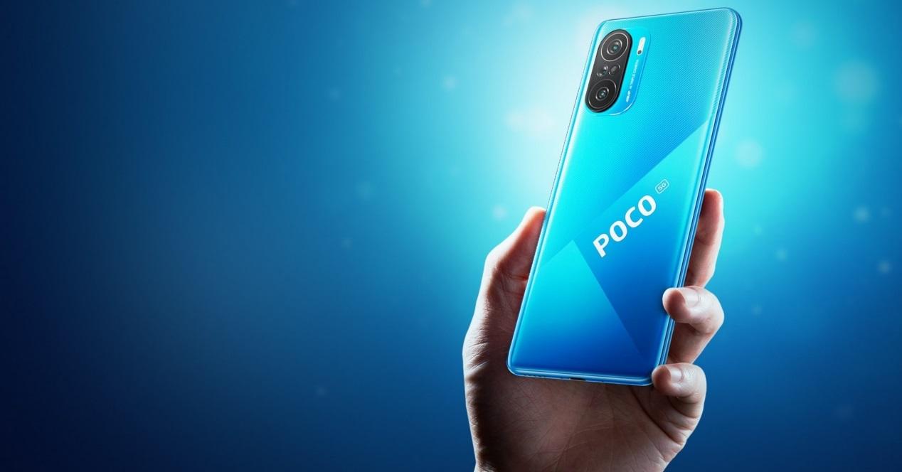 Poco F3 Azul