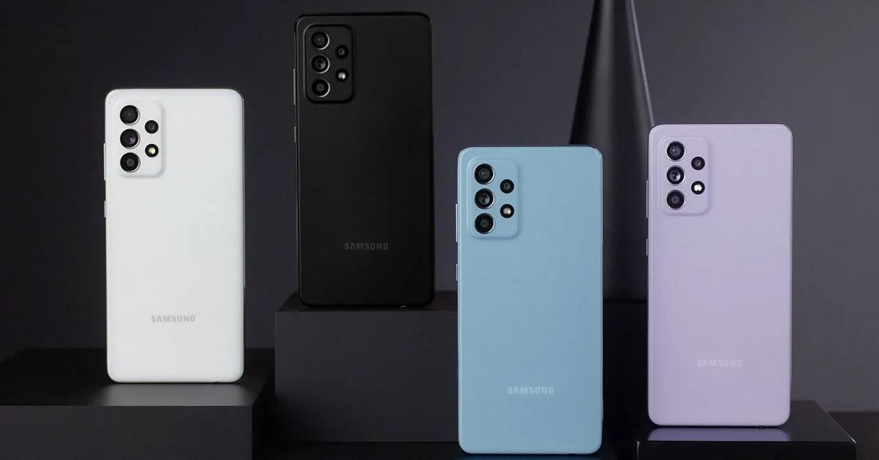 Samsung Galaxy A52 Colores 01