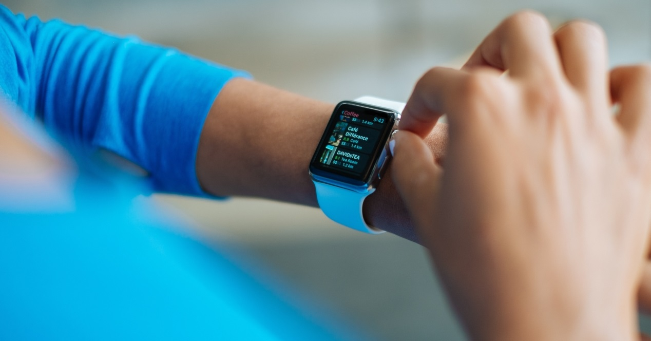 Smartwatch Azul