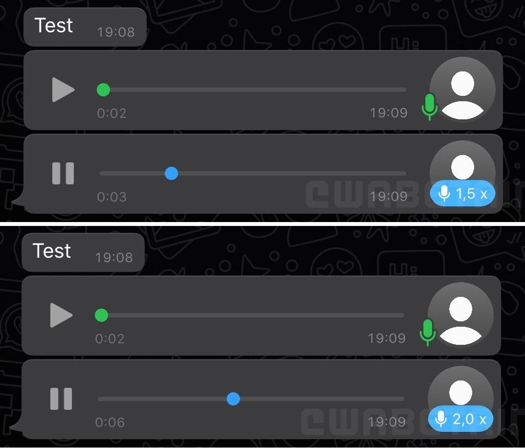 Velocidad De Whatsapp Voz