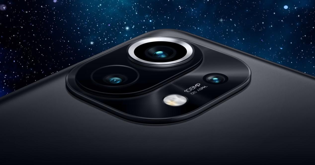 Xiaomi Mi 11 Y Fondo De Estrellas