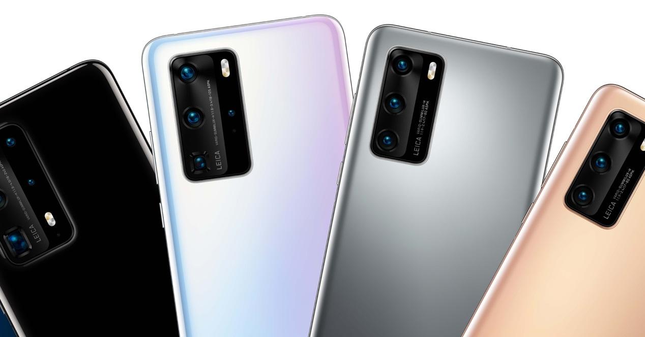 Huawei P40 Y P40 Pro