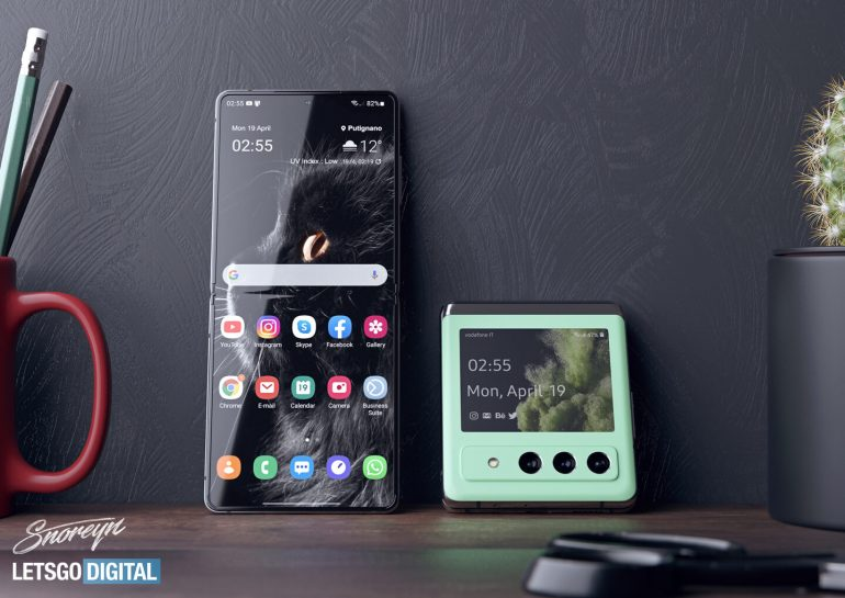 Samsung Galaxy Z Flip 3 Diseño Conceptual 02