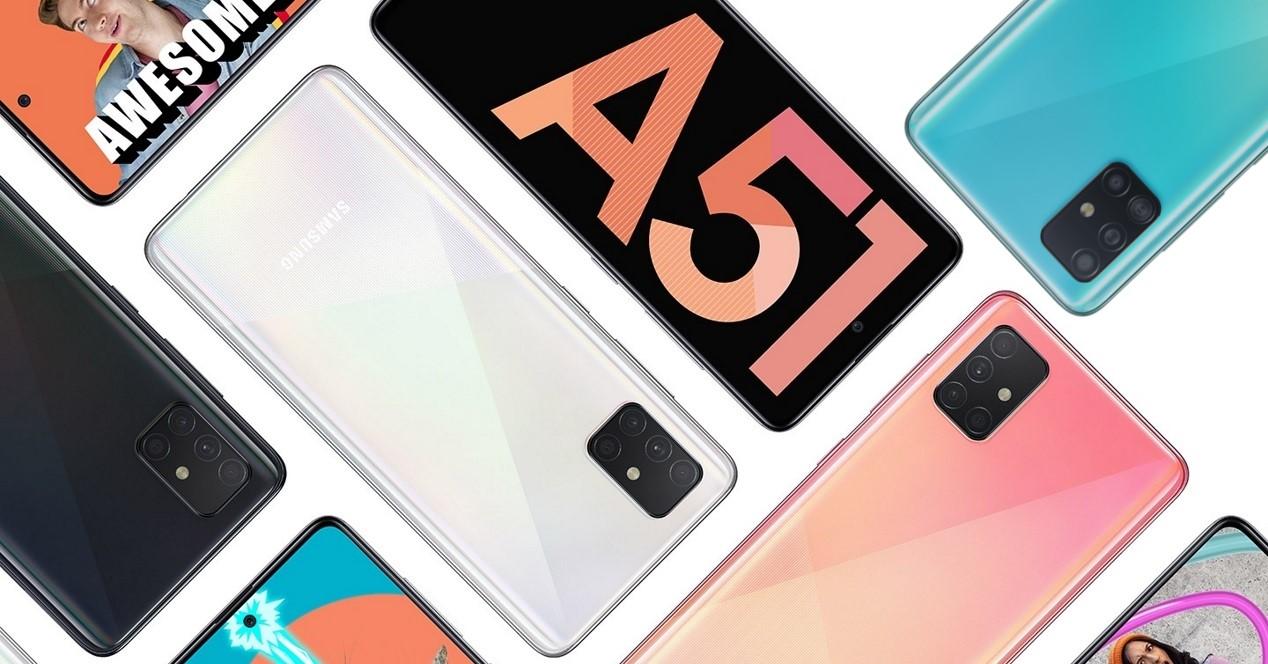 Galaxy A51 Colores