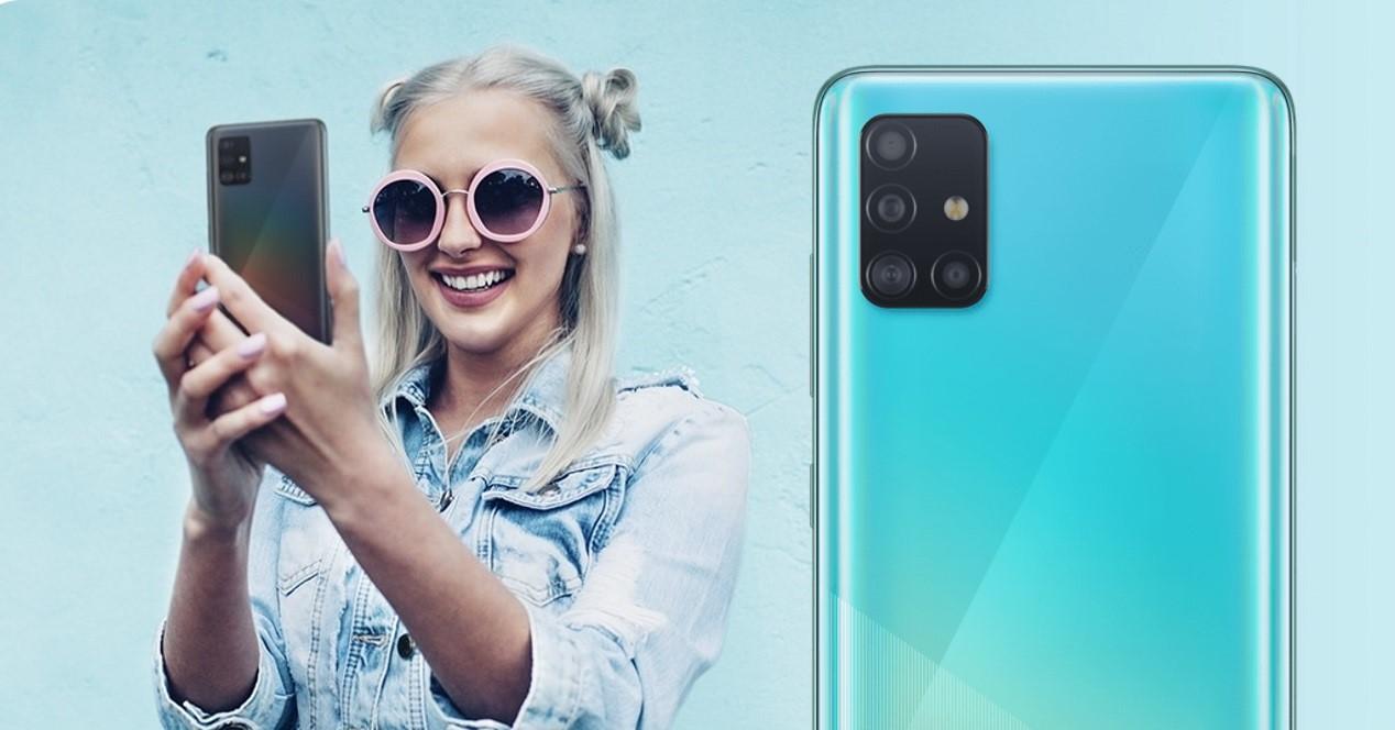 Galaxy A51 Y Selfie