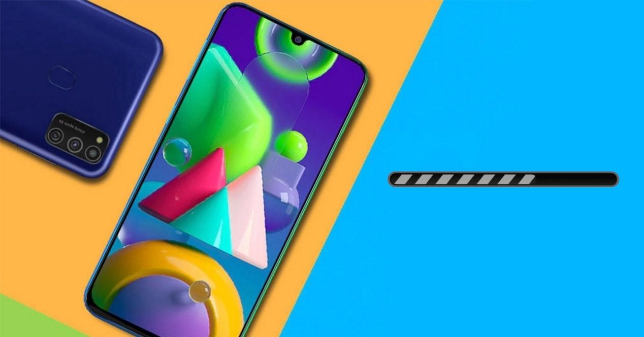 Galaxy M21 Y Barra De Actualizar