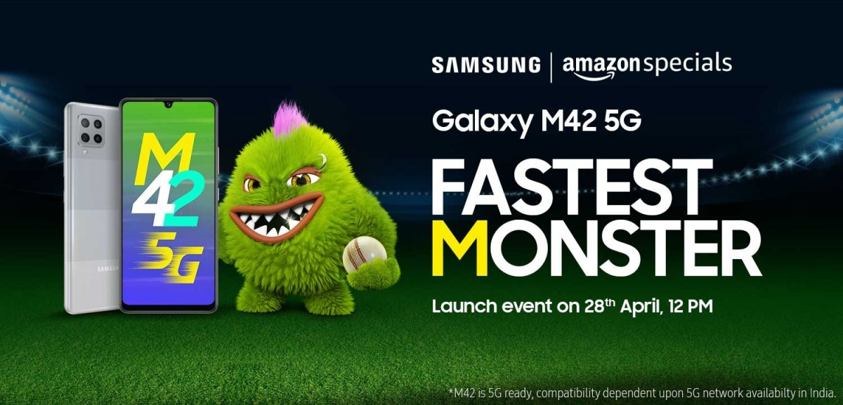 Evento Amazon Galaxy M42 5G