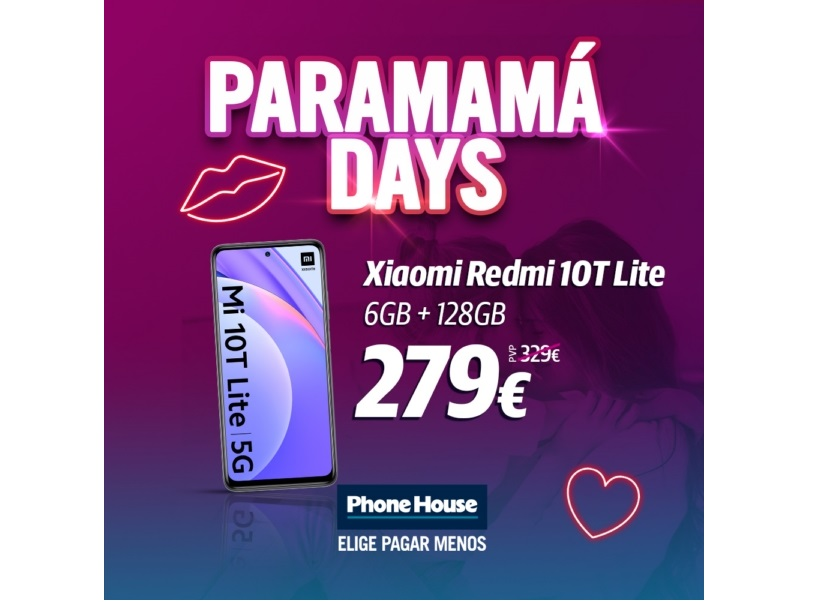 Paramama Days Redmi 10tlite