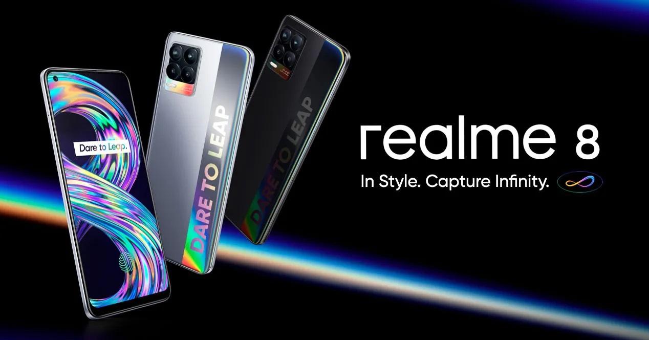 Realme 8 Colores