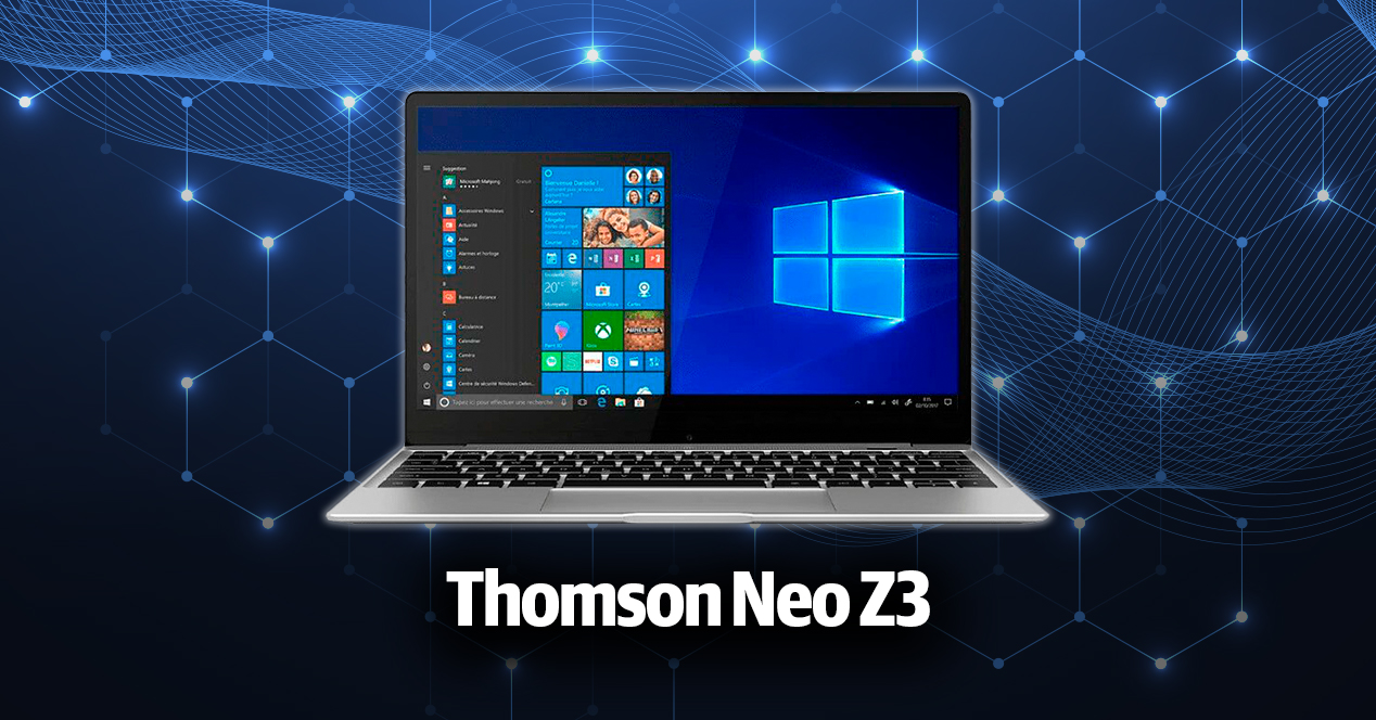 portátil Thomson Neo Z3
