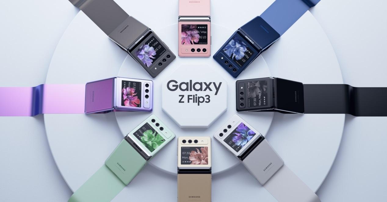 Samsung Galaxy Z Flip 3 Concepto