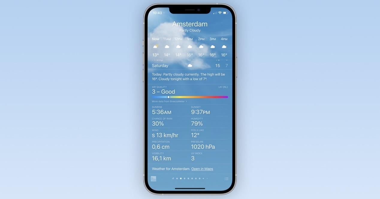 Calidad Del Aire Iphone