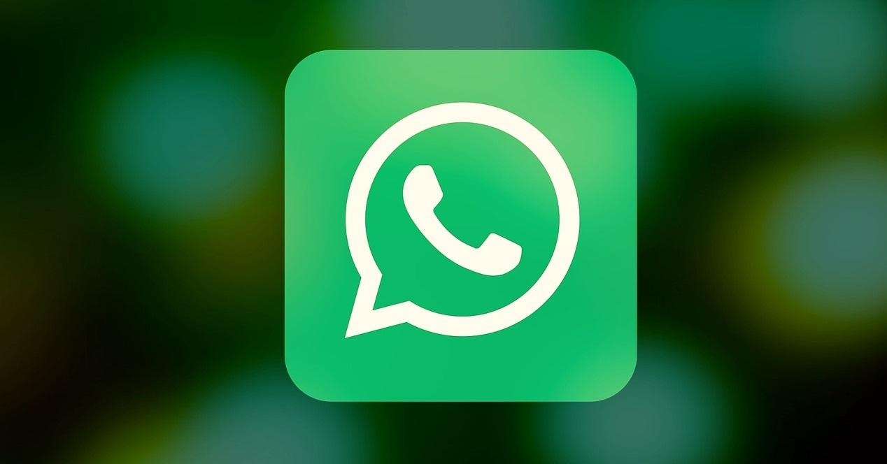 Logo Whatsapp Y Fondo Difuminado