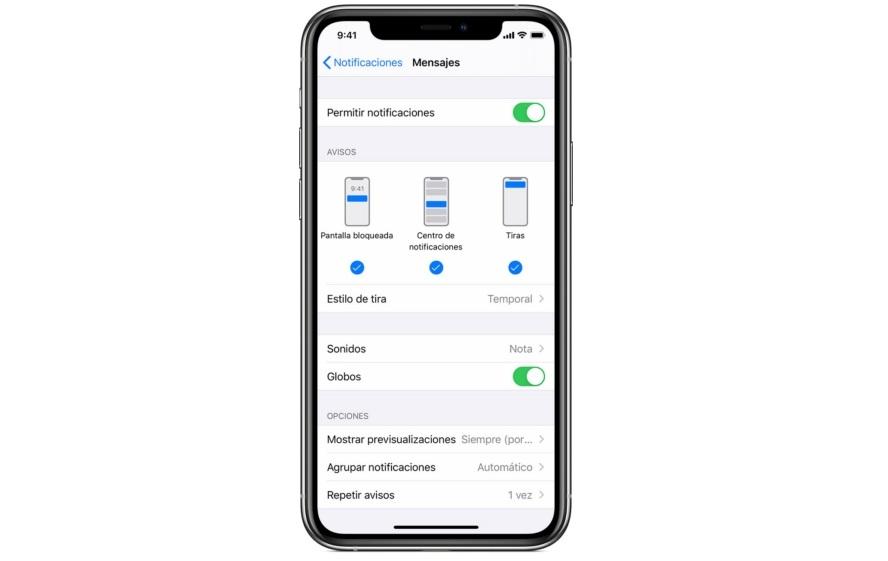 Notificaciones En Iphone
