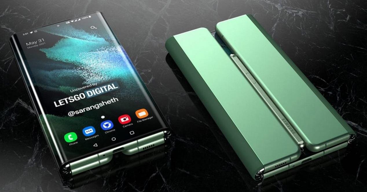 Samsung Galaxy Z Fold Tab (2)
