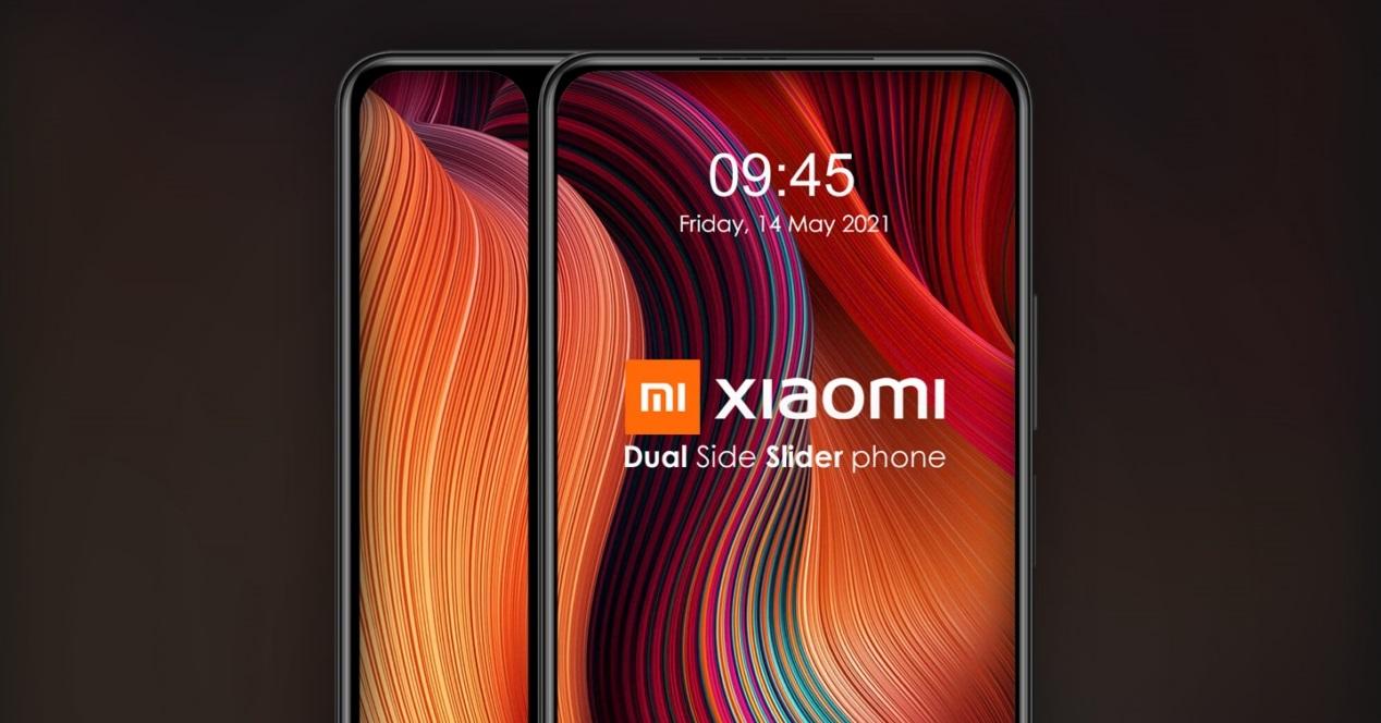 Xiaomi Movil Con Deslizamiento Lateral