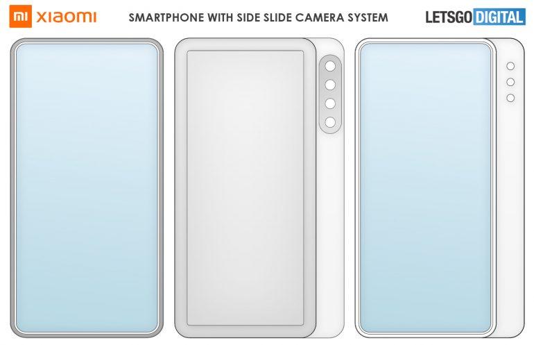 Xiaomi Patente Deslizamiento Lateral
