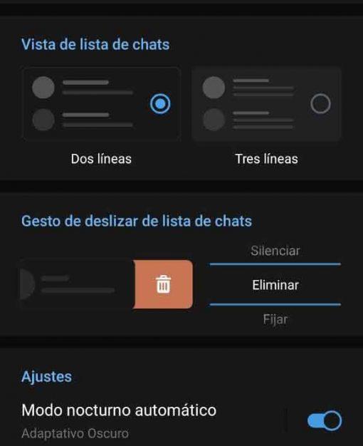 Oscuro Telegram
