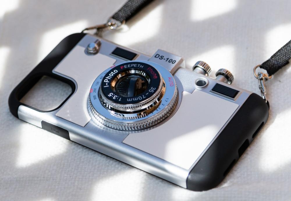 Carcasa Camara Retro Iphone 12