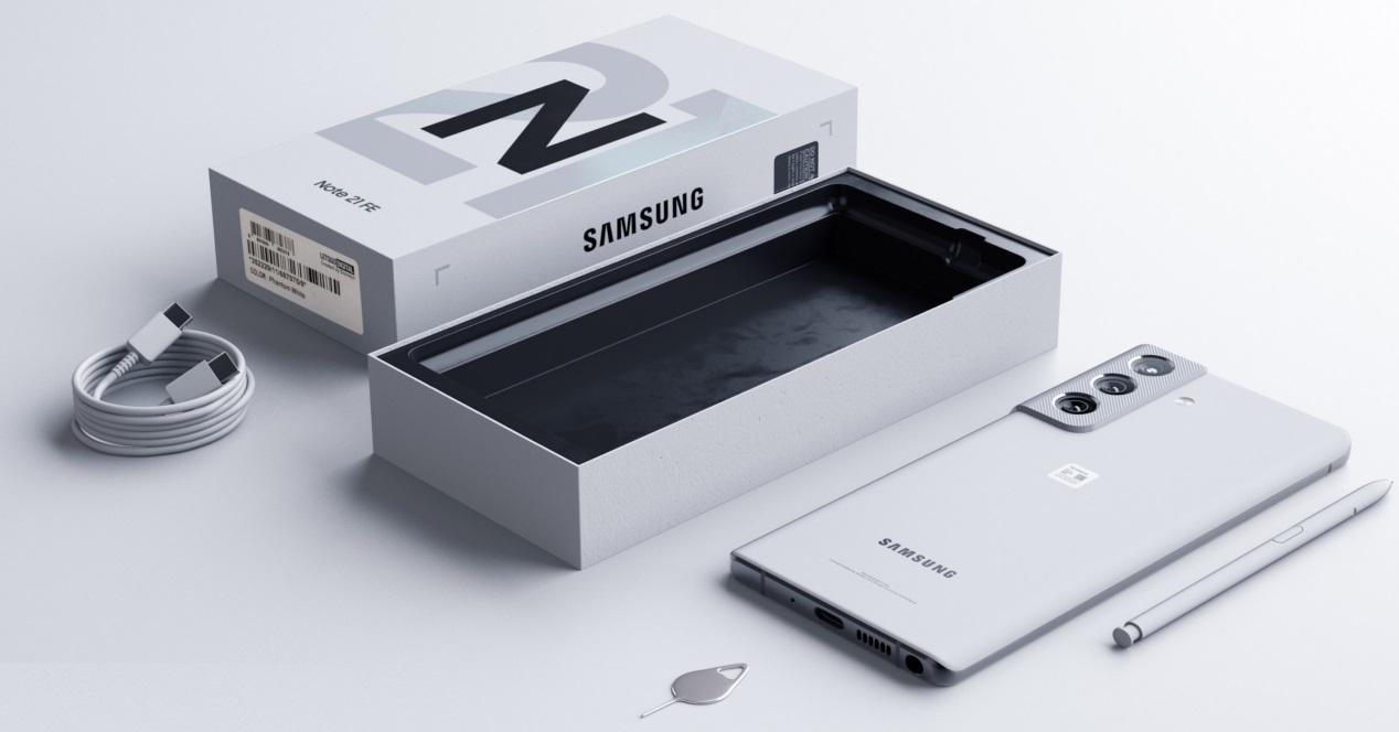 Galaxy S21 Fe Concepto