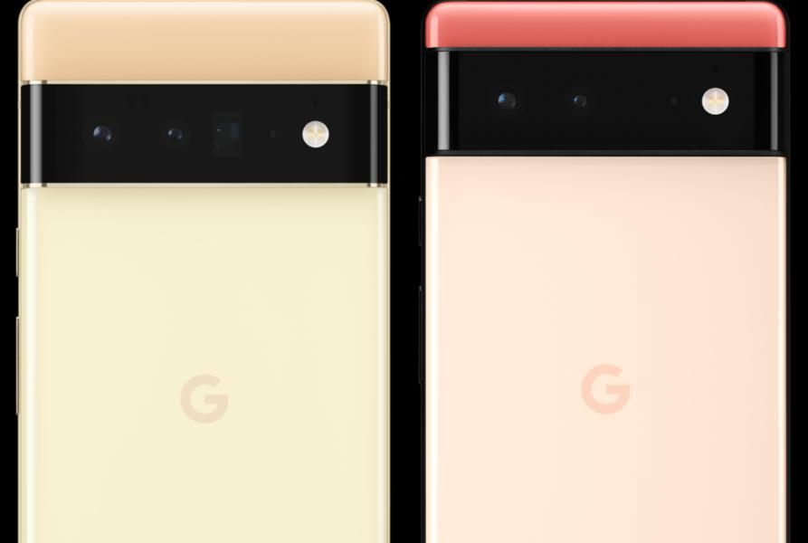 Google Pixel 6 Y 6 Pro