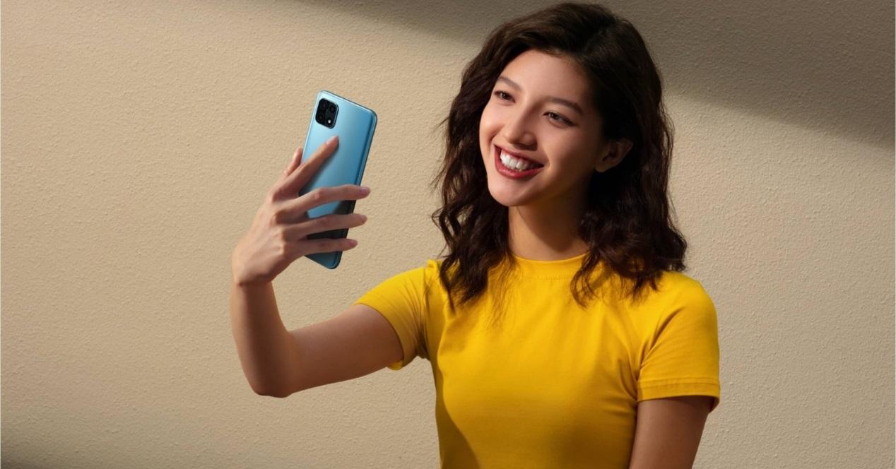 Oppo A15 Y Selfie