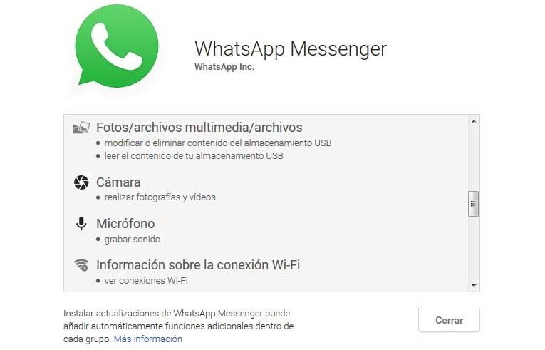 Permisos De Whatsapp