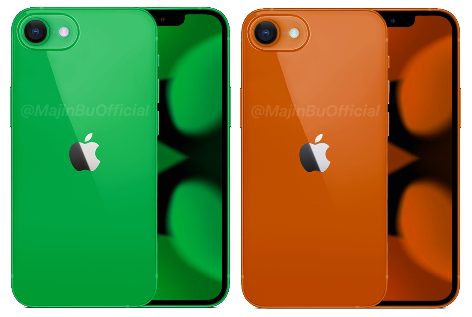 Iphone Se Concepto Verde