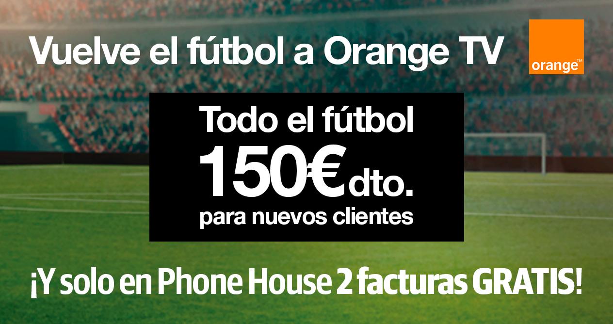 Oferta Orange Tv Futbol Phone House