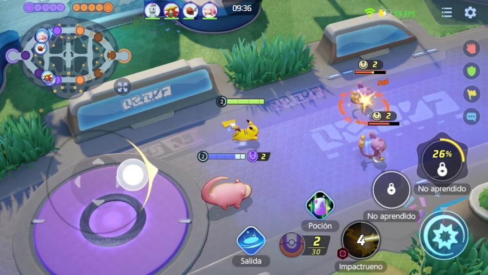 Pokemon Unite Batalla