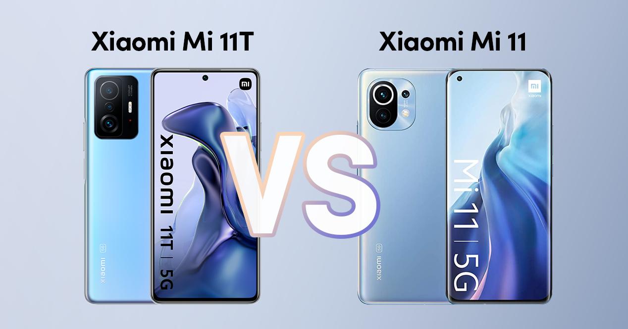 Xiaomi Mi 11t Vs Xiaomi Mi 11
